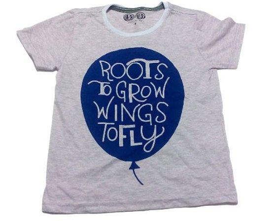 Camiseta Lilás Juvenil