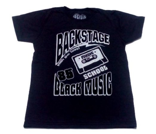 Camiseta Cinza Escuro Juvenil