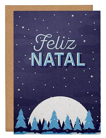 Cartão Natal mágico