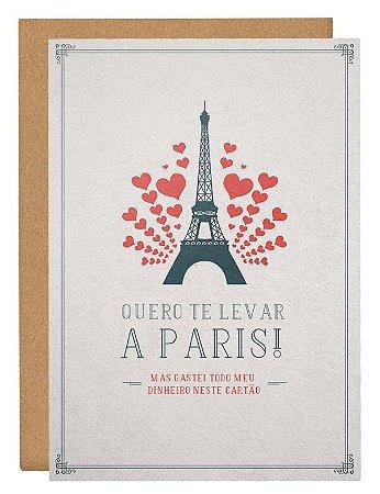 Cartão Ah Paris