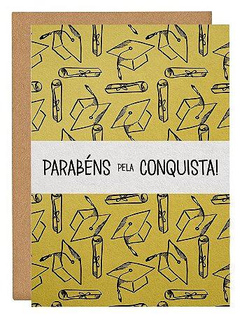 Cartão O conquistador