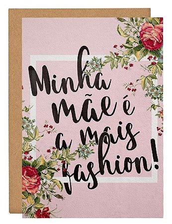 Cartão Mãe fashion