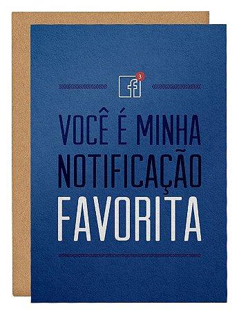 Cartão Notificação Facebook