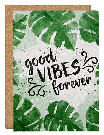 Cartão Good vibes