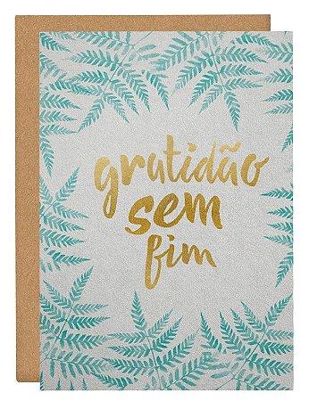 Cartão Gratidão