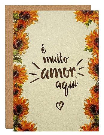 Cartão Amor aqui