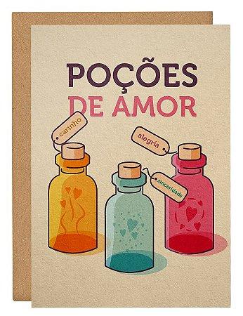 Cartão Poções de amor