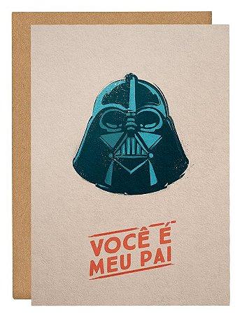 Cartão Star Wars - Bege
