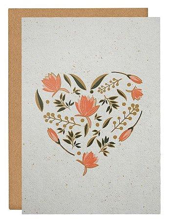 Cartão Vivendo o amor