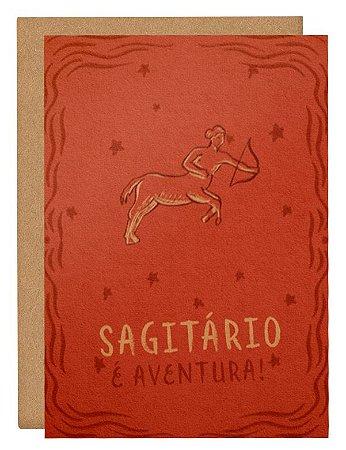 Cartão Horóscopo Sagitário