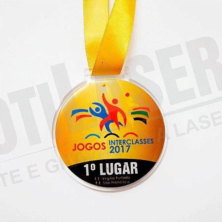 Medalhas Personalizadas em Acrílico