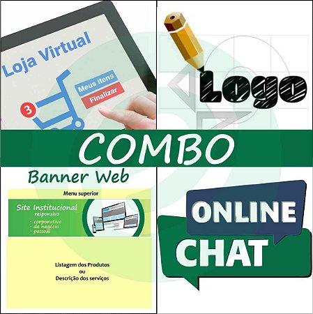 COMBO Loja Virtual completa