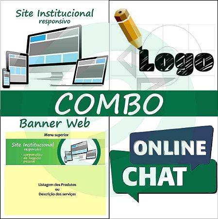 COMBO Site Institucional completo