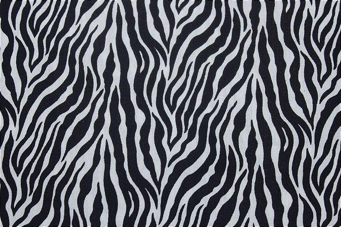 Tricoline Animal Print Zebra ( 0,50 m x 1,40 m )