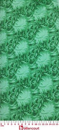 Tricoline Pluma Verde ( 0,50 m x 1,40 m )