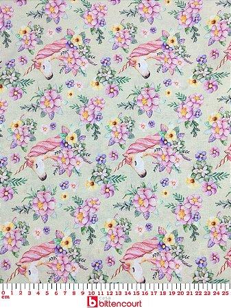 Tricoline Unicórnio Digital 9026-11 Peripan ( 0,50 m x 1,40 m )