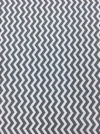 Tricoline Chevronzinho Cinza Caldeira ( 0,50 m x 1,40 m )