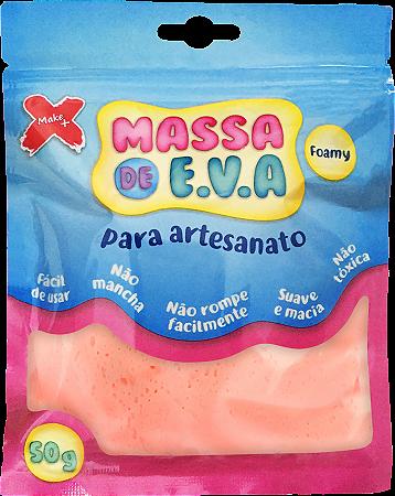 MASSA DE EVA P/ ARTESANATO 50 G - SALMÃO