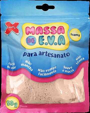 MASSA DE EVA P/ ARTESANATO 50 G - BEGE