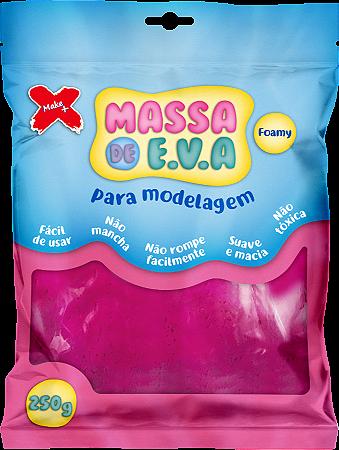 MASSA DE EVA P/ ARTESANATO 250 G - PINK