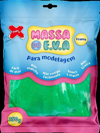 MASSA DE EVA P/ ARTESANATO 250 G - VERDE ESCURO