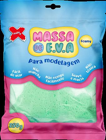 MASSA DE EVA P/ ARTESANATO 250 G - VERDE CLARO