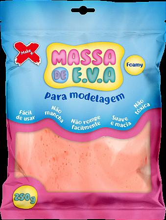 MASSA DE EVA P/ ARTESANATO 250 G - SALMÃO