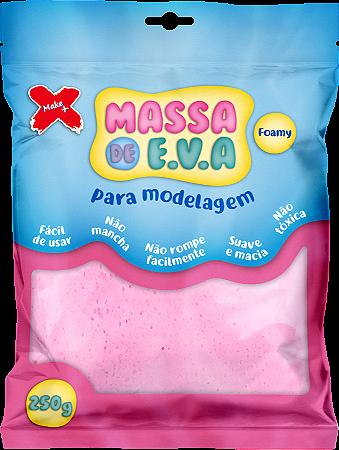 MASSA DE EVA P/ ARTESANATO 250 G - ROSA BEBÊ