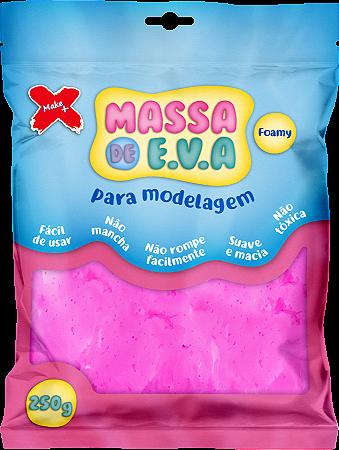 MASSA DE EVA P/ ARTESANATO 250 G - ROSA