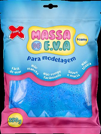 MASSA DE EVA P/ ARTESANATO 250 G - AZUL CLARO
