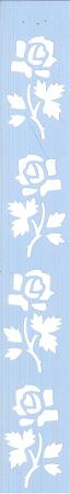 ESTÊNCIL JK 368 4 X 30 ROSAS