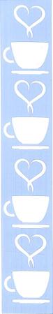 ESTÊNCIL JK 385 4 X 30 CAFÉ