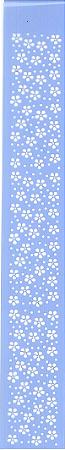 STENCIL JK 400 4 X 30 FLORZINHAS