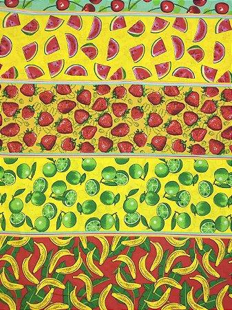 Tricoline Frutas Fernando Maluhy ( 0,50 m x 1,40 m )