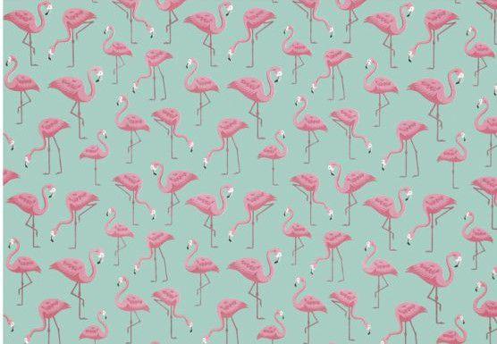 Tricoline Flamingos Dohler ( 0,50 m x 1,40 m )