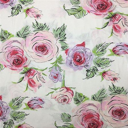 Tricoline Floral 2 ( 0,50 m x 1,40 m )