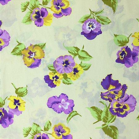 Tricoline Floral 3 ( 0,50 m x 1,40 m )