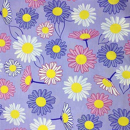 Tricoline Floral 5 ( 0,50 m x 1,40 m )