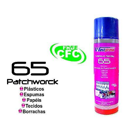 Cola Temporária Adesivo Spray 65 CAIXA COM 12 UNIDADES Westpress