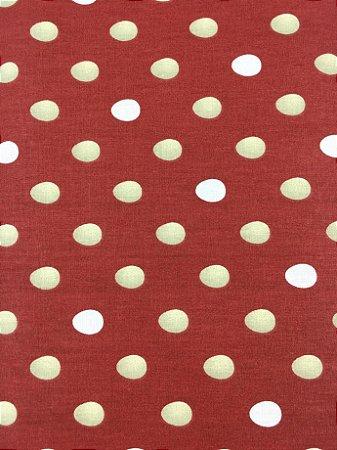 Tricoline páscoa ovos fundo vermelho ( 0,50 m x 1,40 m )
