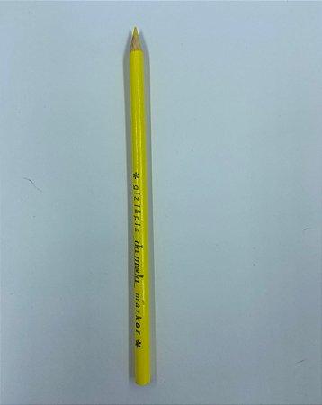 Giz Lápis Marcador para Tecidos Amarelo