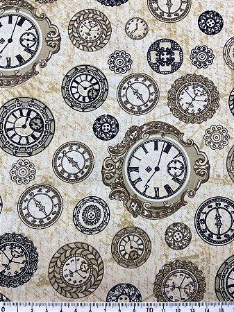 Tricoline Relógios - Digital ( 0,50 m x 1,40 m )