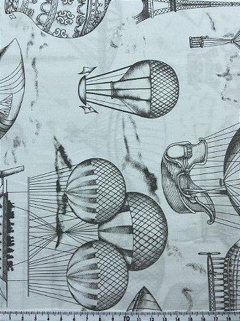 Tricoline Balões Minimalista   ( 0,50 m x 1,40 m )