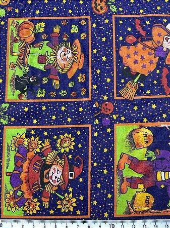 Tricoline Halloween  ( 0,50 m x 1,40 m )
