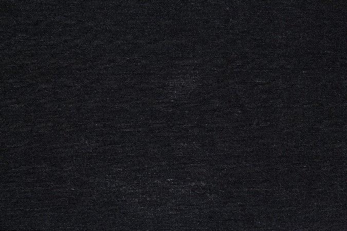 Tecido MISTO Estonado Preto  ( 0,50 m x 1,60 m )
