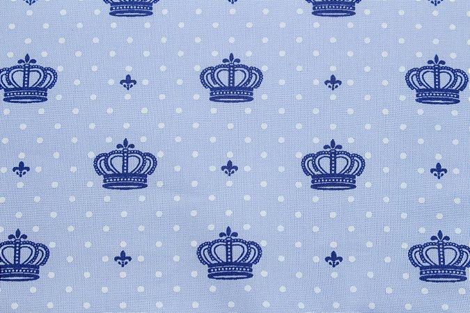 Tricoline Coroa Pequena Azul ( 0,50 m x 1,40 m )