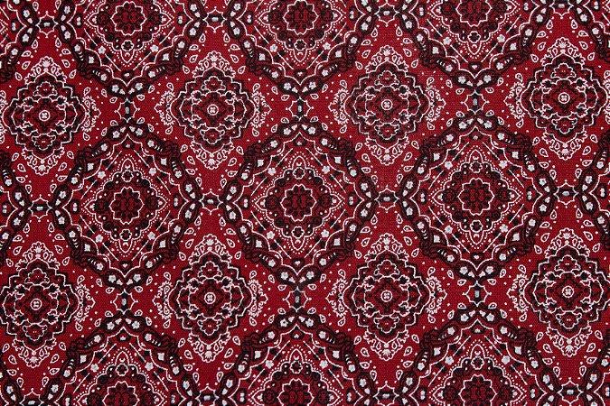 Tricoline Mini Bandana Vermelha ( 0,50 m x 1,40 m )