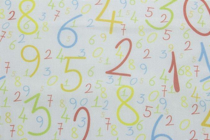 Tricoline MISTO DIGITAL Números ( 0,50 m x 1,50 m )