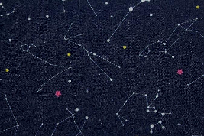 Tricoline MISTO DIGITAL Constelações Signos ( 0,50 m x 1,50 m )