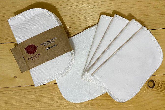 Lenços de Limpeza - Reutilizáveis (kit com 5)